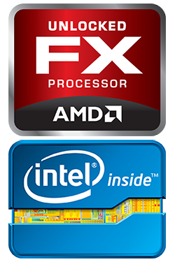 Powerful Intel® and AMD® CPUs
