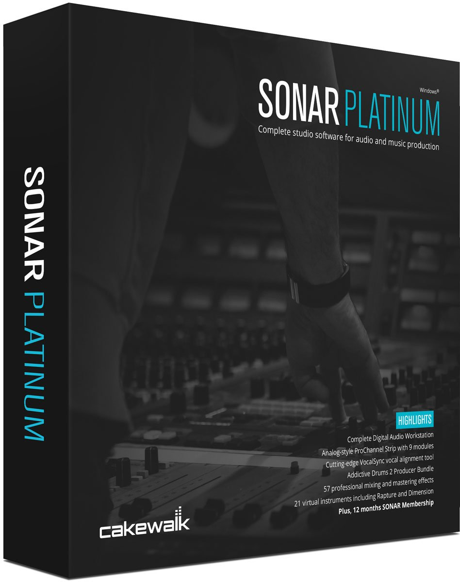 Free Download Cakewalk SONAR Platinum Terbaru Full Version - Ronan Elektron
