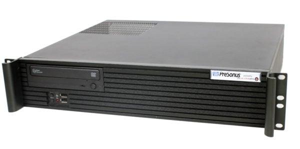 PCAudioLabs PreSonus PSc Rak pro audio PC - quarter view