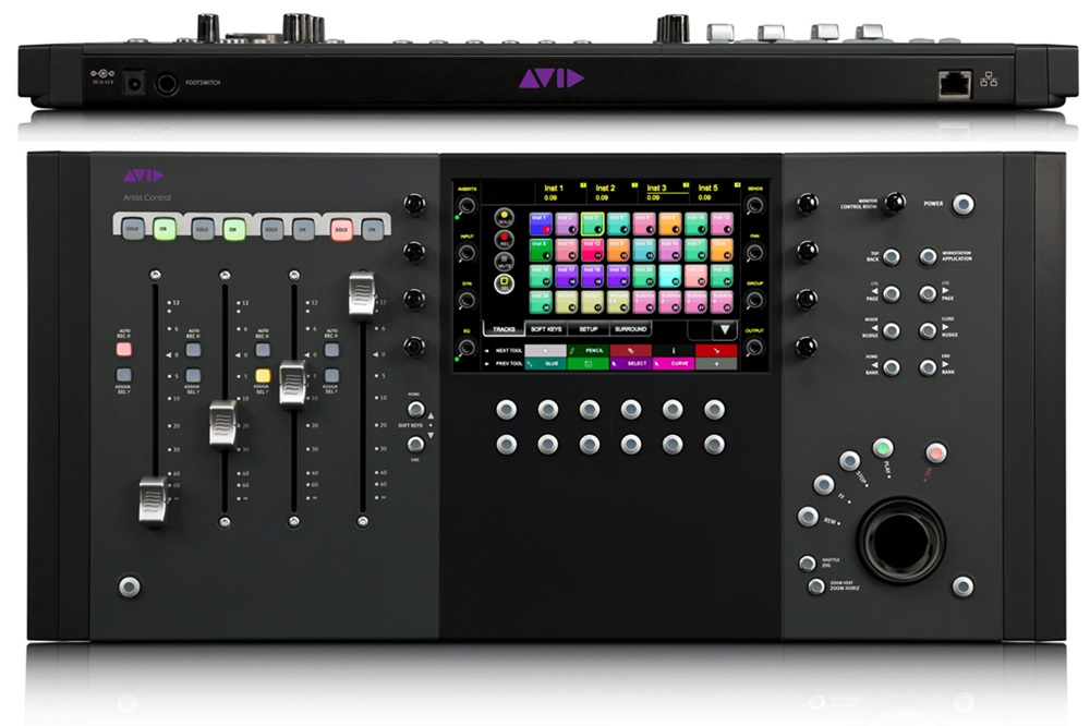 avid artist control compact 4 fader control surface. Black Bedroom Furniture Sets. Home Design Ideas