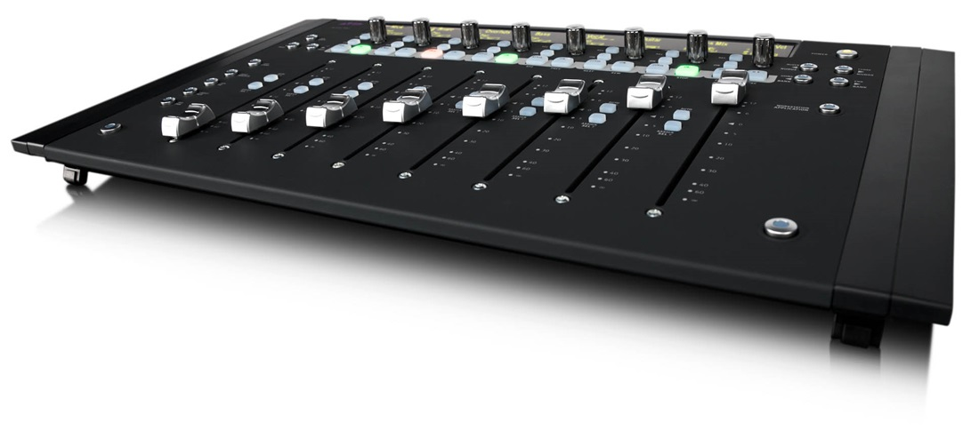 avid artist mix compact 8 fader audio video control surface. Black Bedroom Furniture Sets. Home Design Ideas