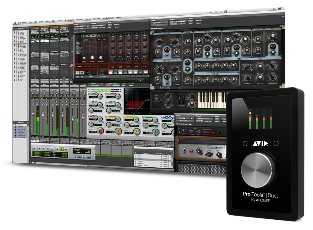 Avid Pro Tools Duet Software Interface Bundle with 1 Year Subscription