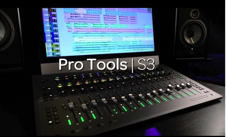Avid Pro Tools S 3 Control Surface