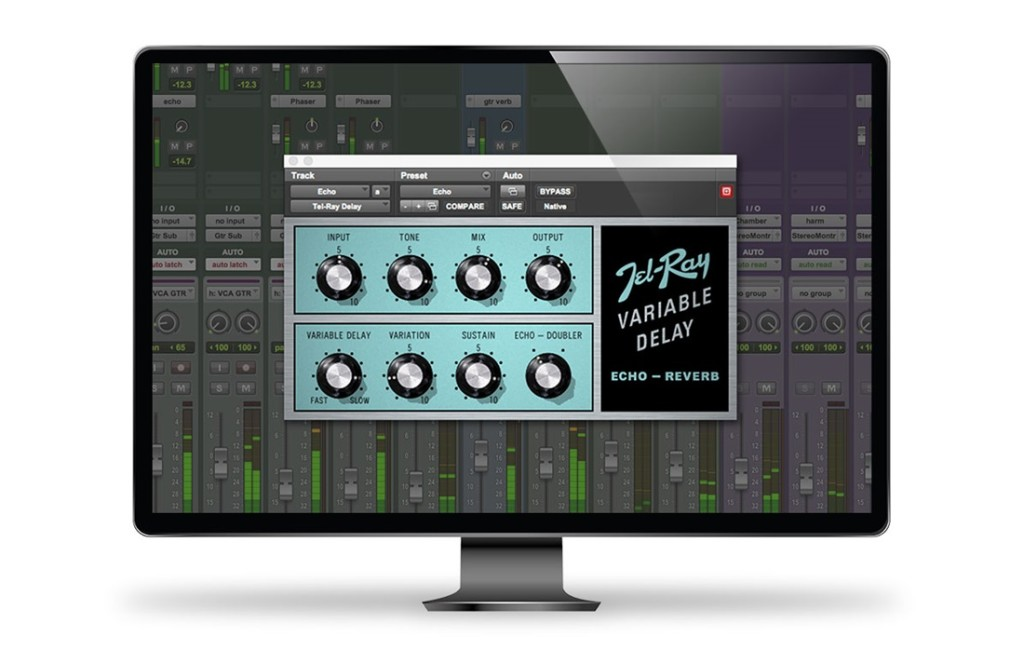 MainPluginTelRayVariableDelay for Avid Audio Plug-In Activation Card Tier 1