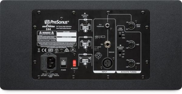 PreSonus Eris E44 2 Way Active MTM Studio Monitor Back