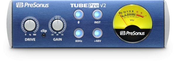 PreSonus TubePre V2 1 Channel Tube Preamplifier/DI Box