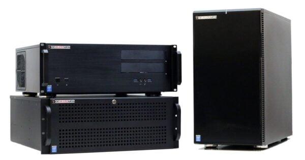 PCAudioLabs MC-X Pro Audio PC Rackmounts and Desktop