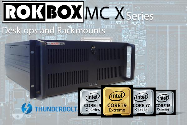 PCAudioLabs Rok Box MC X Series DAW