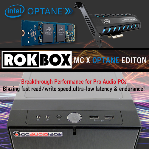 ROK BOX DAW Pro Audio Computers from PCAudioLabs