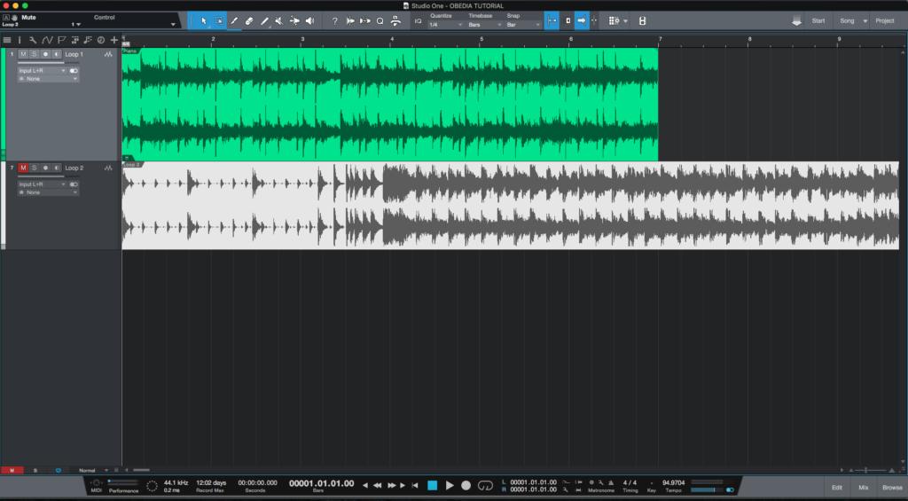 Save As VS Versions in Studio One 4