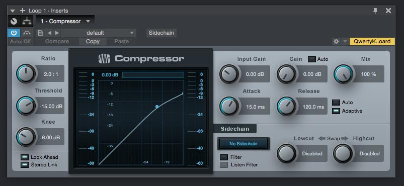 How to use Presonus Compressor in Studio One 4 - PCAudioLabs