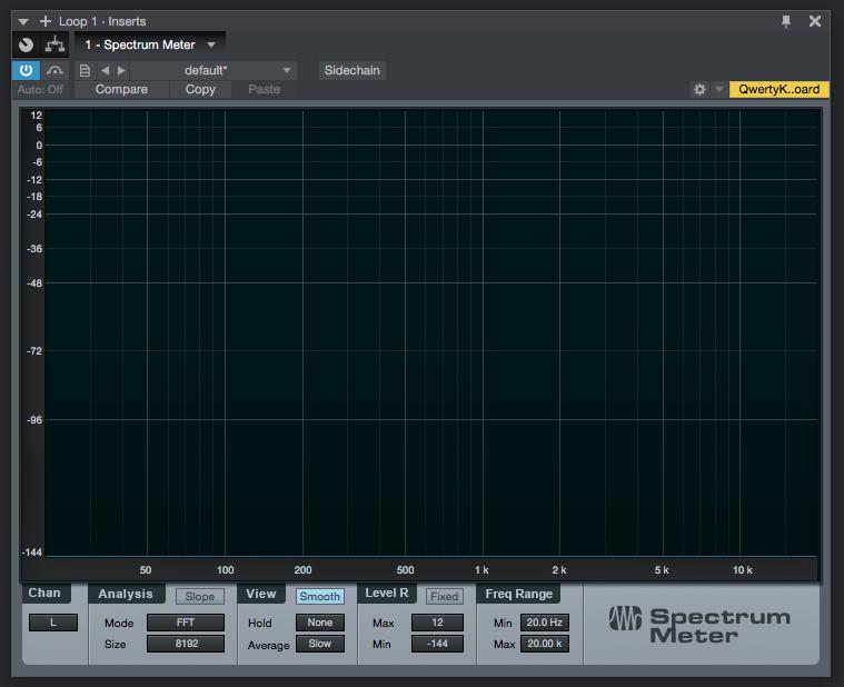 How to use Spectrum Meter Plugin in PreSonus Studio One 4 - PCAudioLabs