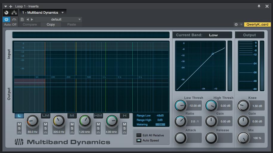 How to use Presonus Multiband Dynamics in Studio One 4