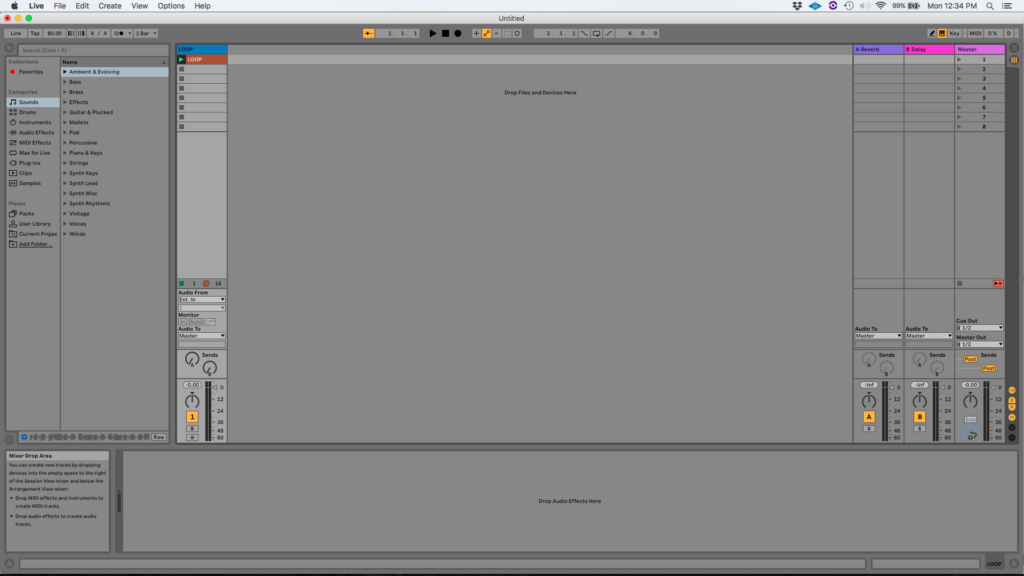 How to use the Ableton Live AUTO FILTER audio effect