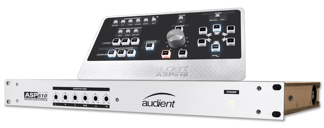 Audient Asp510 Surround Sound Mix Monitor Controller