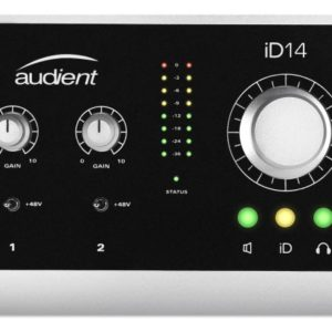 Audient Id14 2 Channel Usb2 Interface And Monitoring