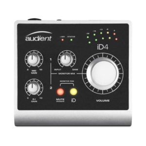 Audient Id4 1 Channel Usb2 Interface And Monitoring