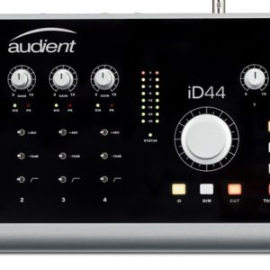 Audient Id44 4 Channel Usb2 Interface And Monitoring