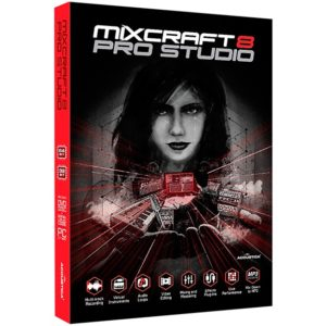 Mixcraft 8 Pro Studio Retail Edition Box Edition