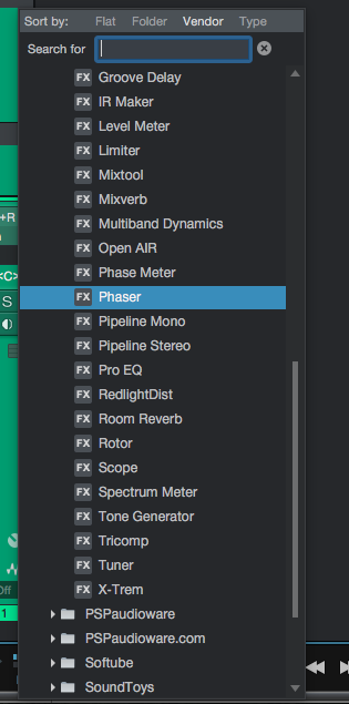 How to use Phaser in Studio One
