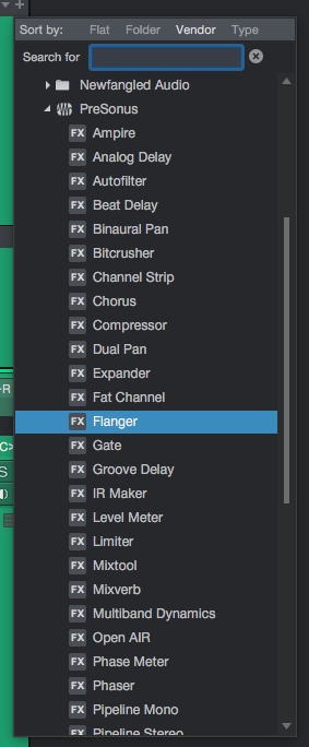 How to use Flanger in Studio One