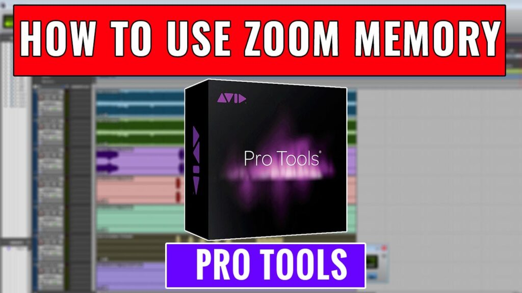 How to use Zoom Memory in Pro Tools
