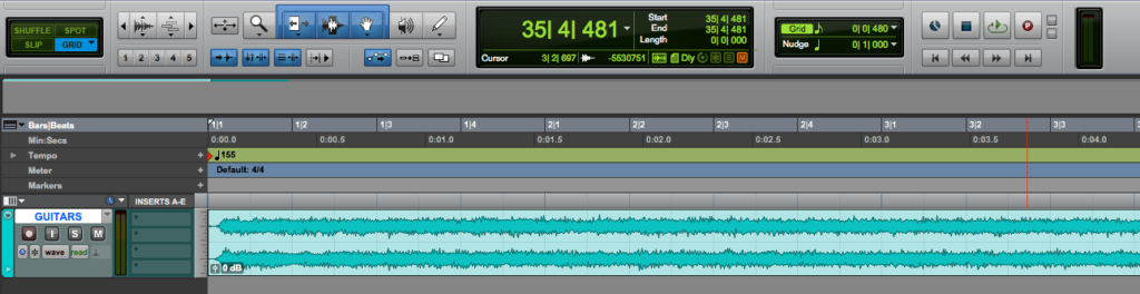 Track Height in Pro Tools