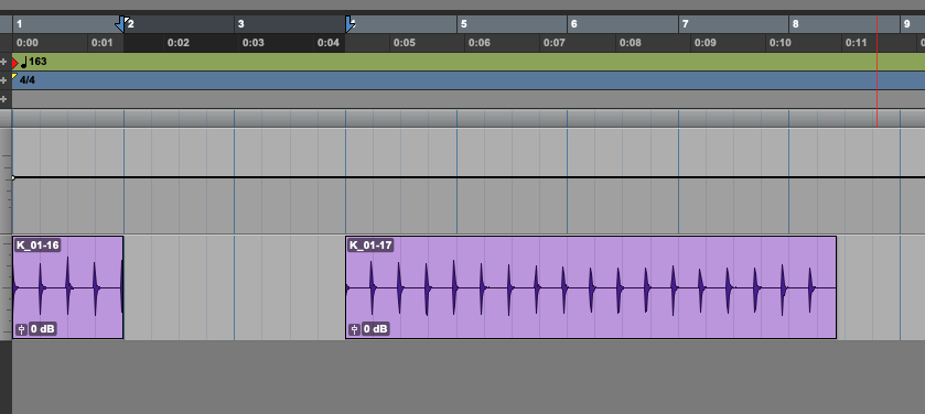 Insert Time in Pro Tools